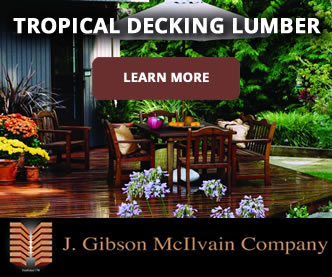 Tropical decking