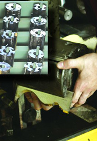 Moulder Head with Knives