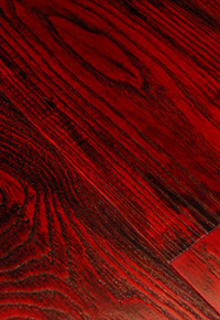 Rehmeyer Extreme Custom Floors: Dramatic Red Ash