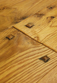 Rehmeyer Authentic Hand Scraped Collection: White Oak Wide Plank