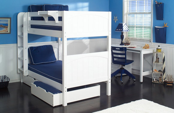 boys maxtrix bunk bed white
