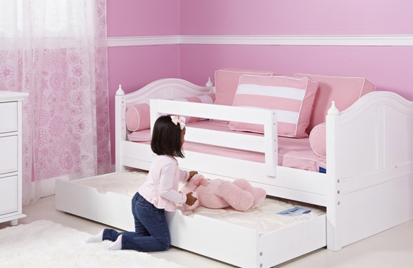 girls maxtrix toddler bed with trundle