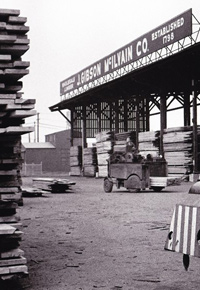 1962 J Gibson McIlvain lumberyard