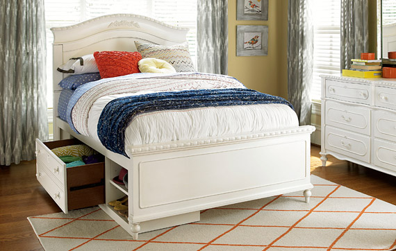 Bellamy Reading Bed with Underbed Storage Compartment