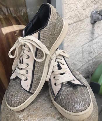 brunello cucinelli sequin sneakers