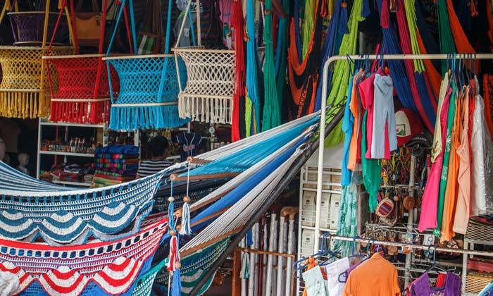 colorful hammocks for sale in masaya nicaragua