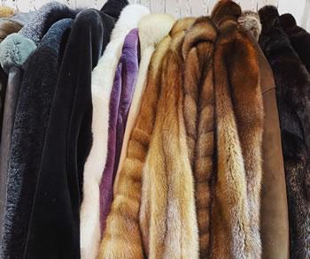 luxury fur coats