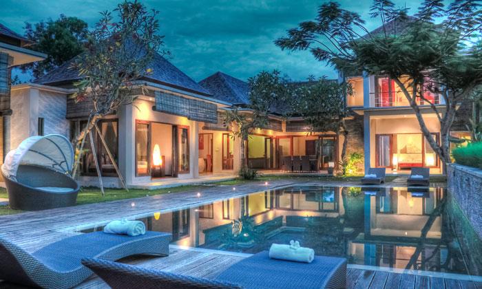 lush paradise with inground swimming pool